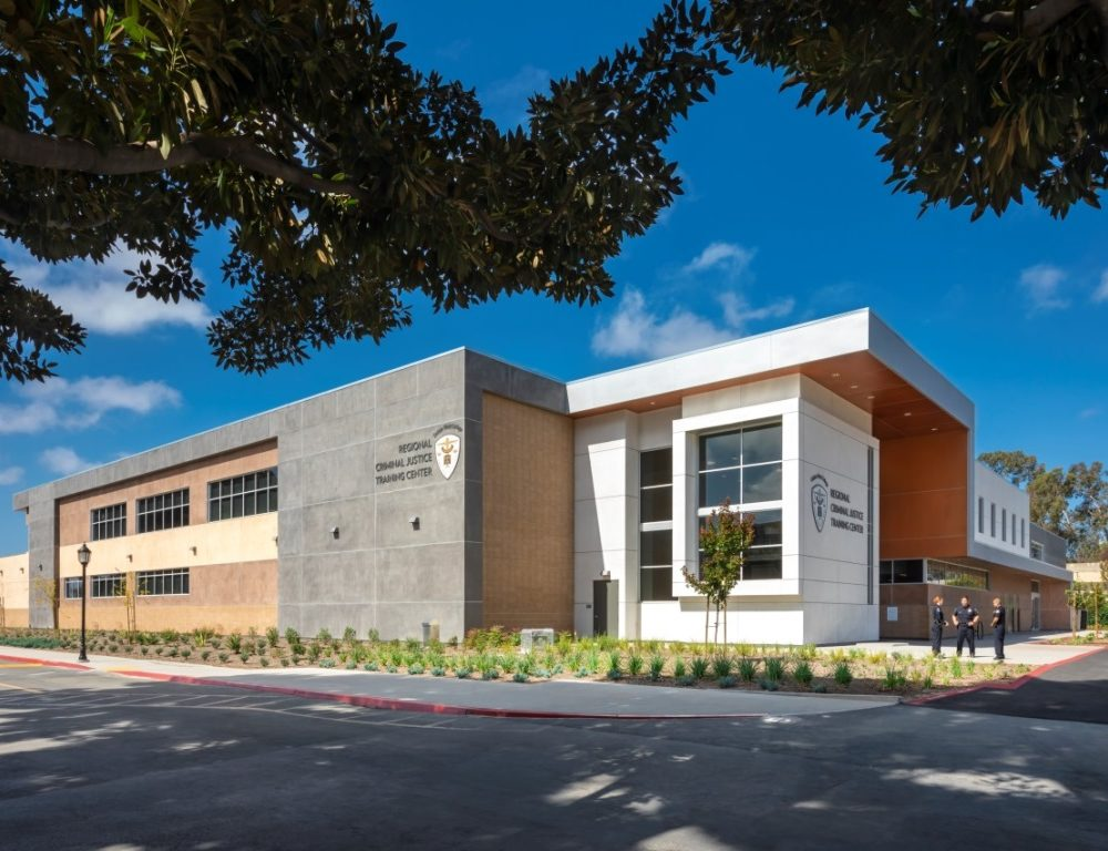 Criminal Justice Training Center at Golden West College